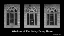 Windows of The Staley Pump House