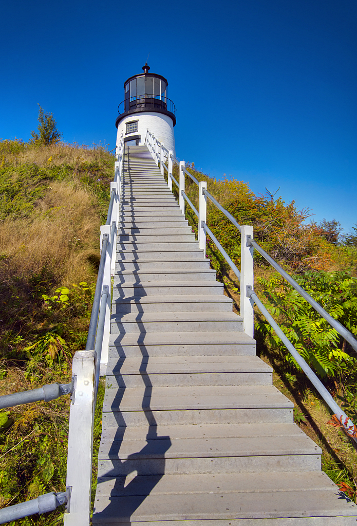 Staircase to Lighthouse
