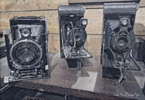 Charming Old Cameras