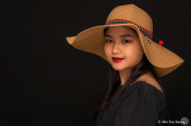 A Girl With Hat