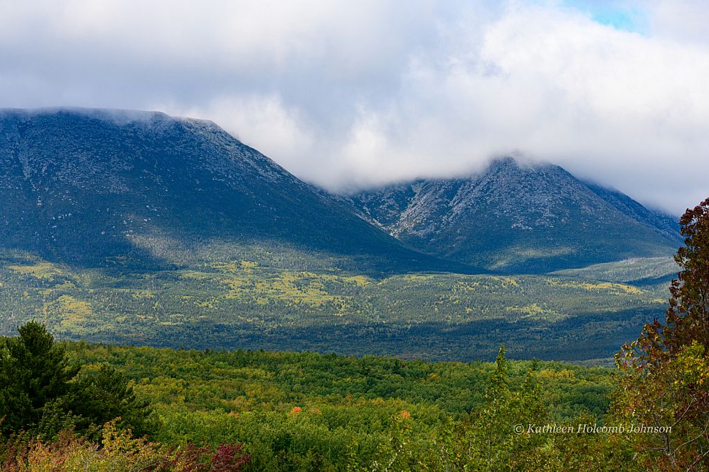 Part Of Mount Katahdin Range! - ID: 15746363 © Kathleen Holcomb Johnson