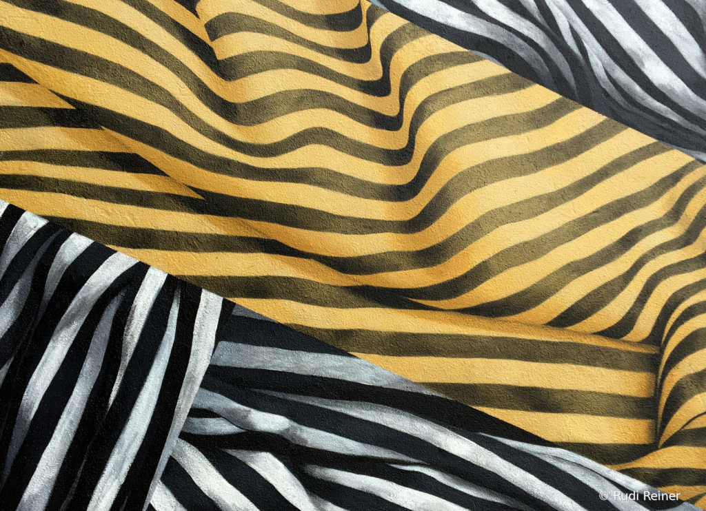 Abstract of stripes