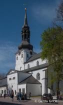 The Gothic Dome Church in Tallinn, Estonia