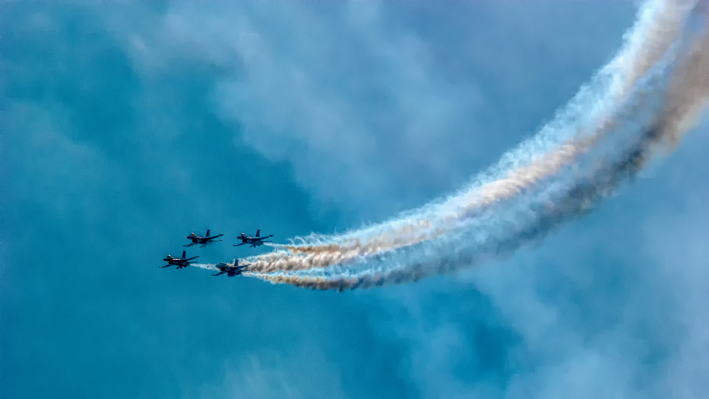 Practice For AC Airshow