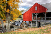 Autumn at the Weston Mill