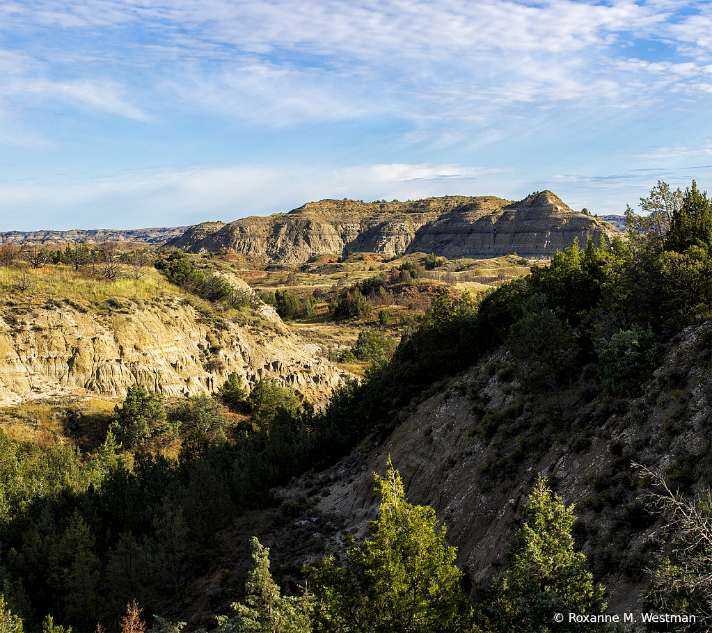 Badlands overlook - ID: 15748738 © Roxanne M. Westman