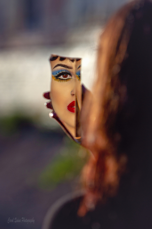 The Girl in the Looking Glass