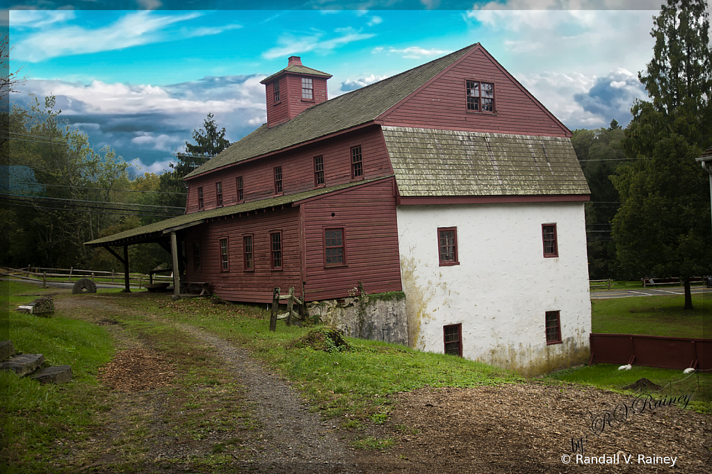 The Old Newlin Grist Mill