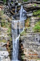 Waterfall at Dogwood Canyon, Mo.