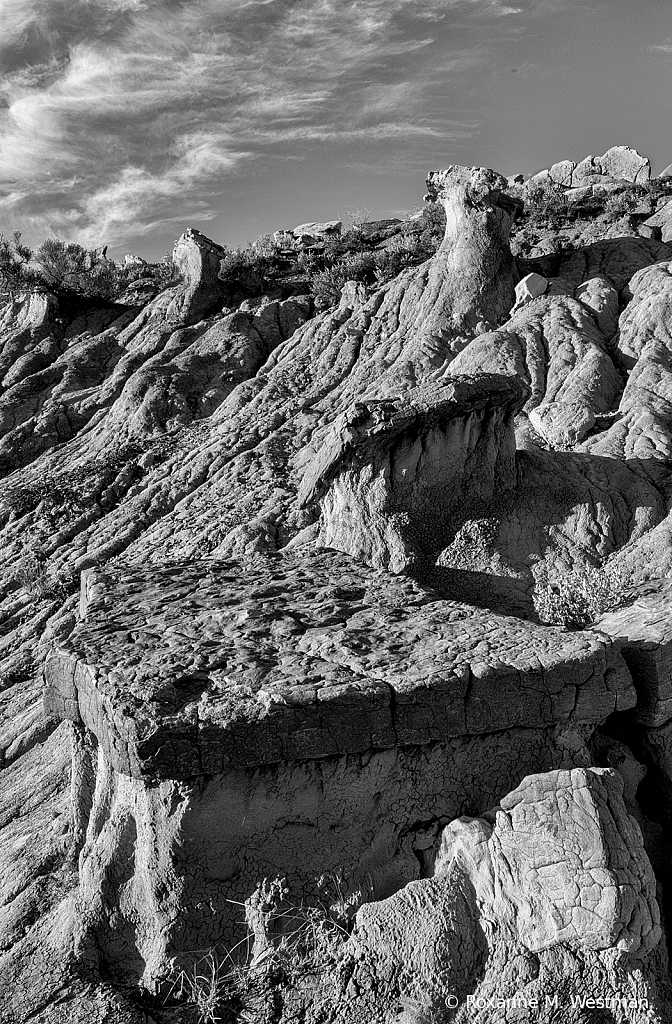 Landforms of the North Dakota badlands