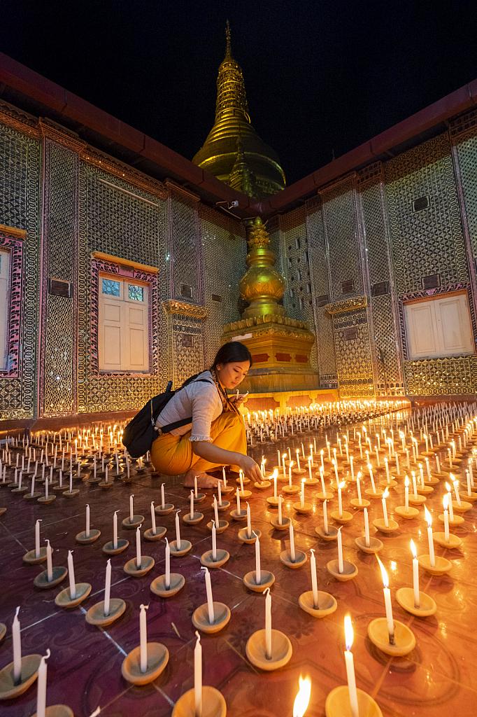 donation light pagoda