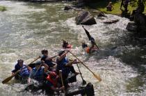 Cardboard Kayak Races