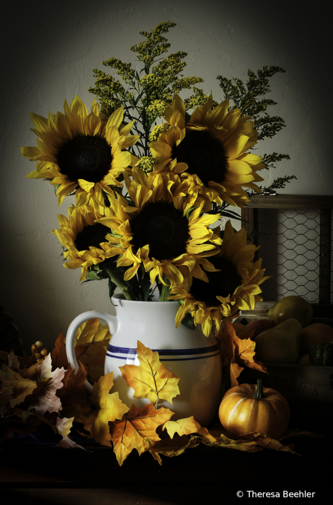 Flowers - Bouquet of Sunflowers - ID: 15750593 © Theresa Beehler