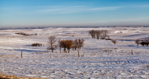 Landscape of western North Dakota