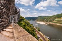 Rhein River from Rheinstein Castle