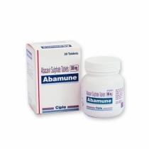 Buy Abamune 300mg Tablet Online - Usage, Dosa
