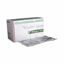 Buy Rifagut 550mg Tablet Online - Usage