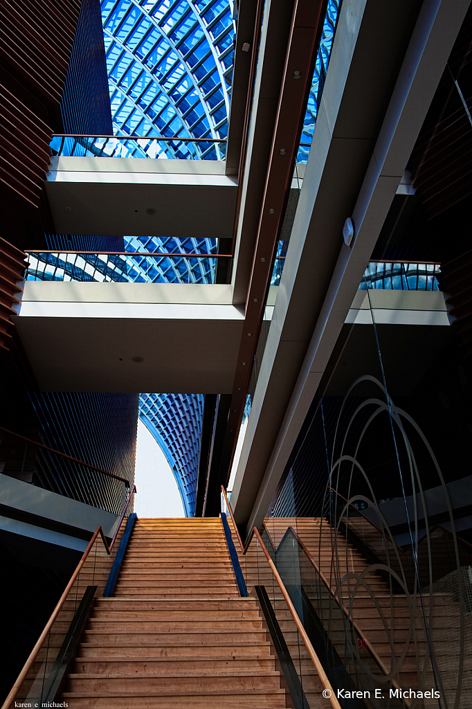 stairs lead the way - ID: 15756943 © Karen E. Michaels