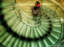 ~ ~ DOWN THE GLASS STAIRCASE ~ ~