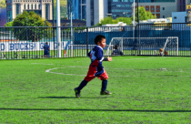 DIEGO PLAYING SOCCER