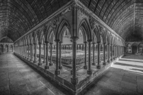 The Cloister at Mont St. Michel