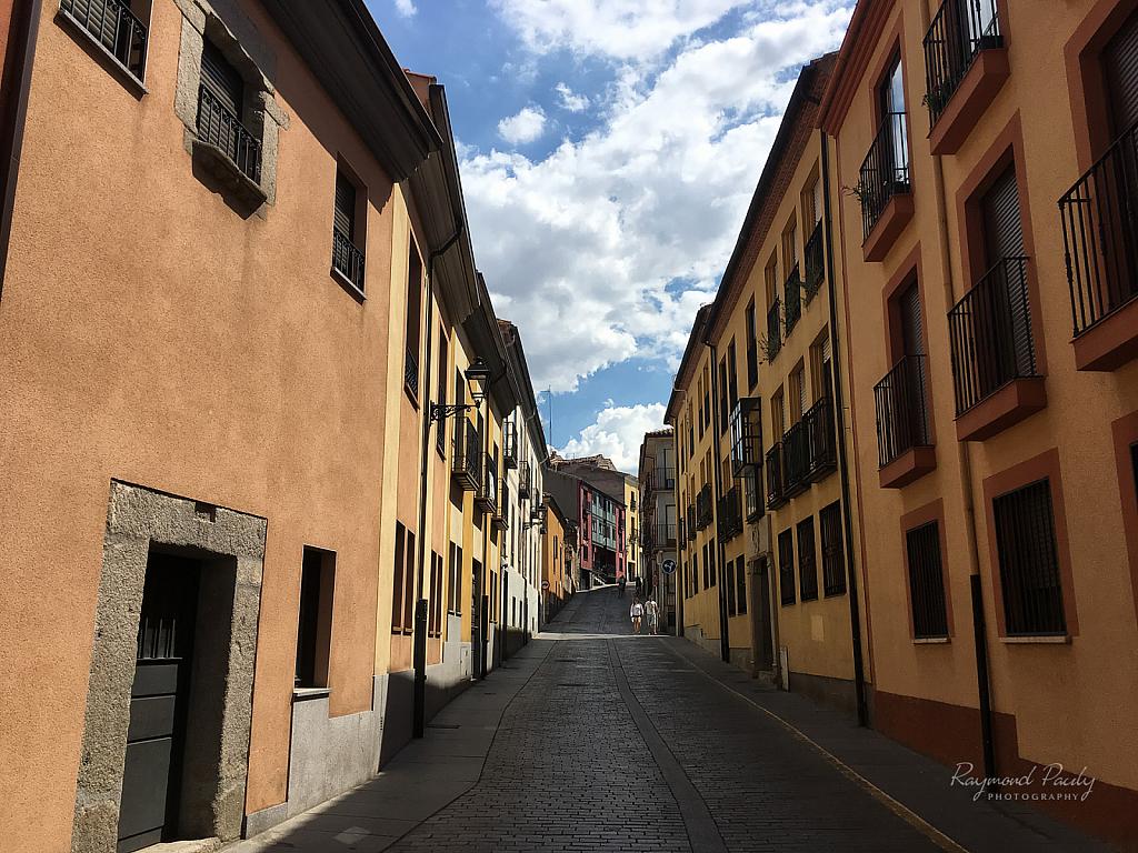 A Street in Segovia