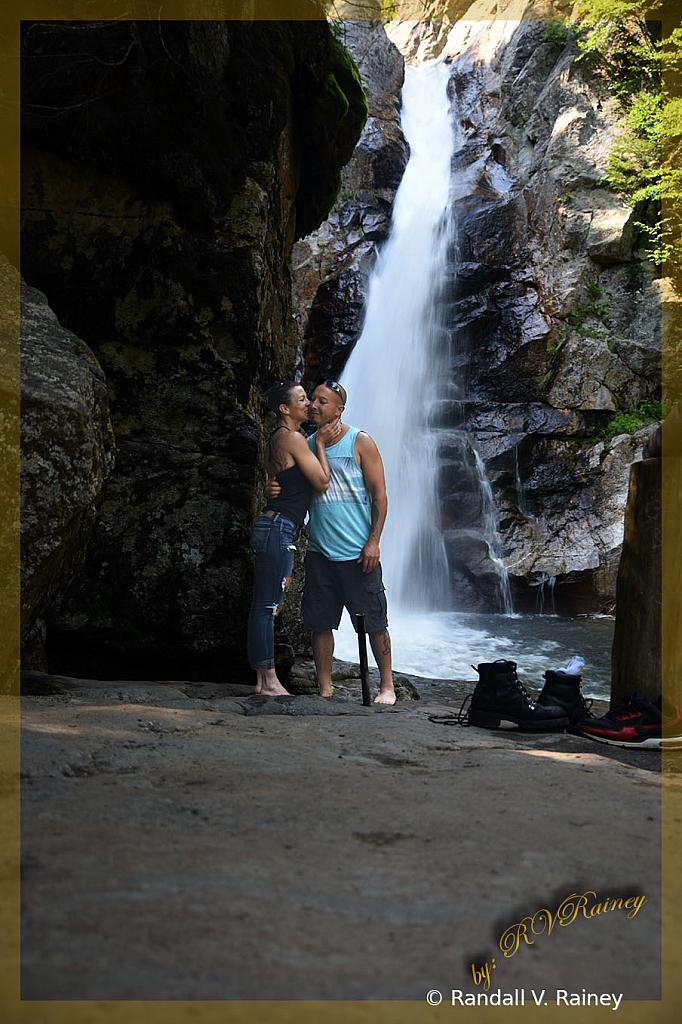 Waterfalling in Love on the Rocks...