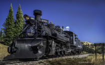 Engine 488 at Cumbres Pass