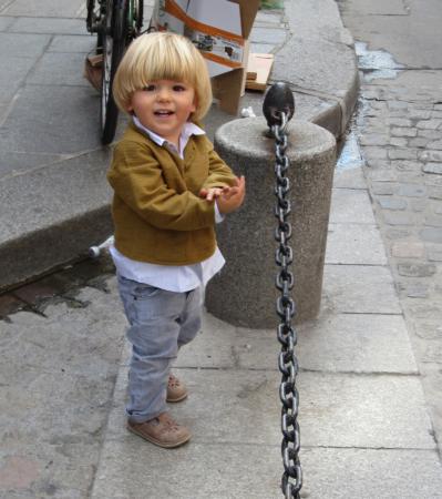 little parisian boy