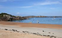 Tregastel Bay and Beach