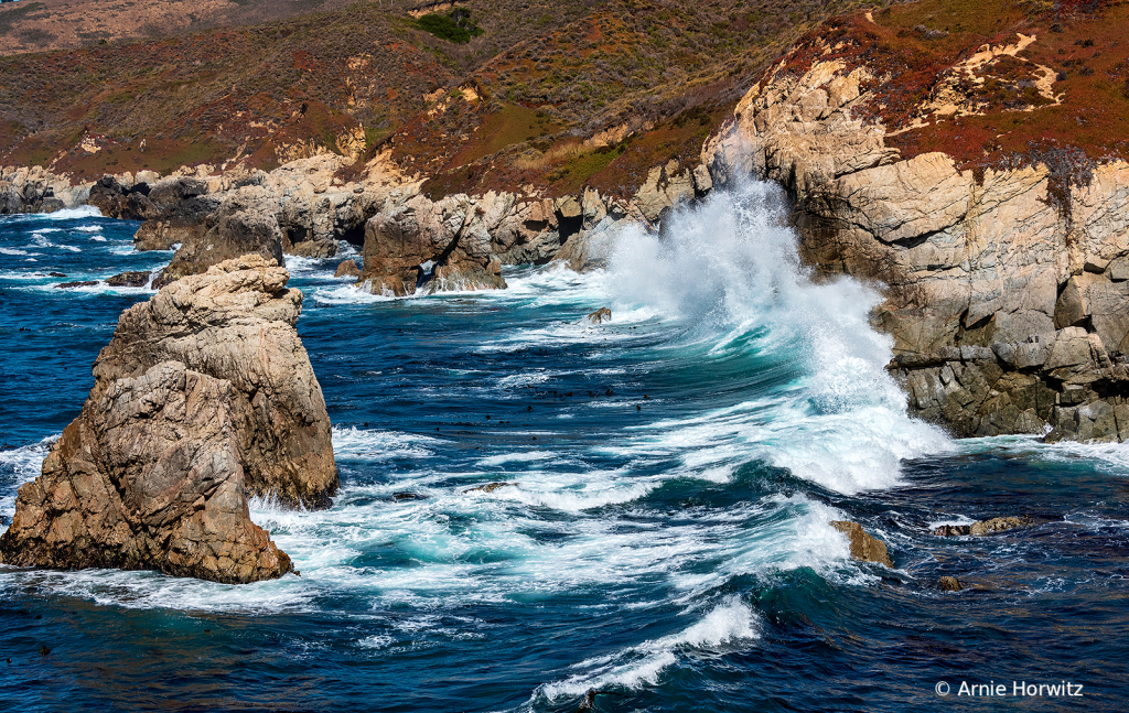 Waves and Rocks - Garrapata State Park