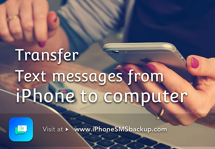 Trasnfer text messages from iphone tocomputer