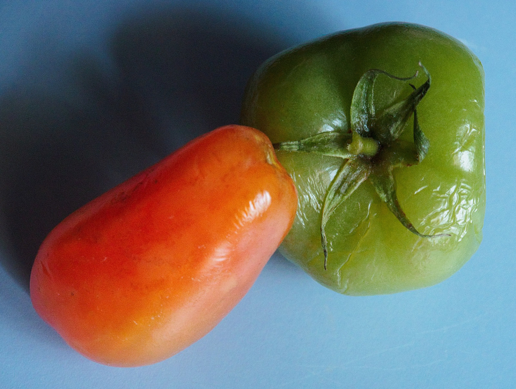 Ripe and Unripe.  Oh, and red-green-blue.