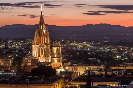 San Miguel de Allende at Night