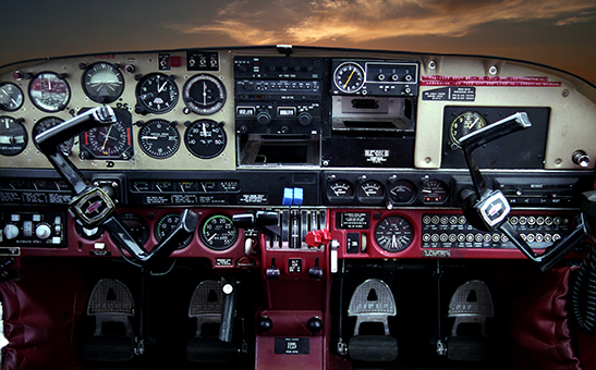 Cockpit - ID: 15773100 © Heather Robertson
