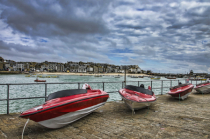 A Line of Boats