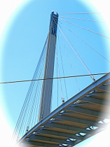 Walkway Bridge over Missouri river