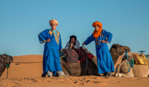 Camel Drivers - Morocco
