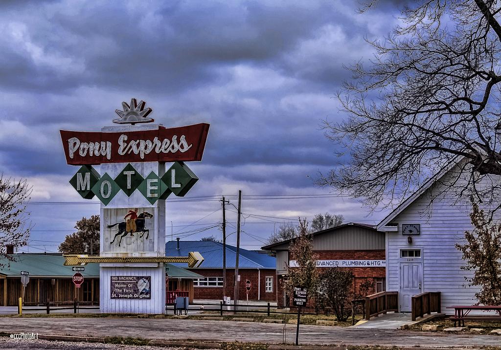Pony Express Motel - ID: 15776015 © Candice C. Calhoun