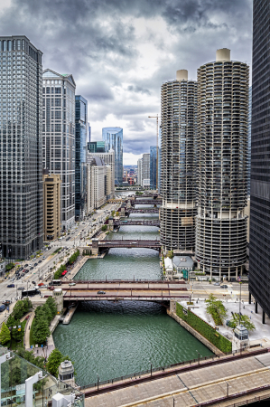 Chicago Rivers Daytime