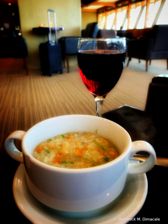 ~ ~ SOUP AND WINE ~ ~