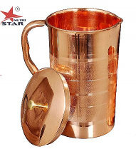 Buy Pure Copper Jug Online | Copper Pitcher |