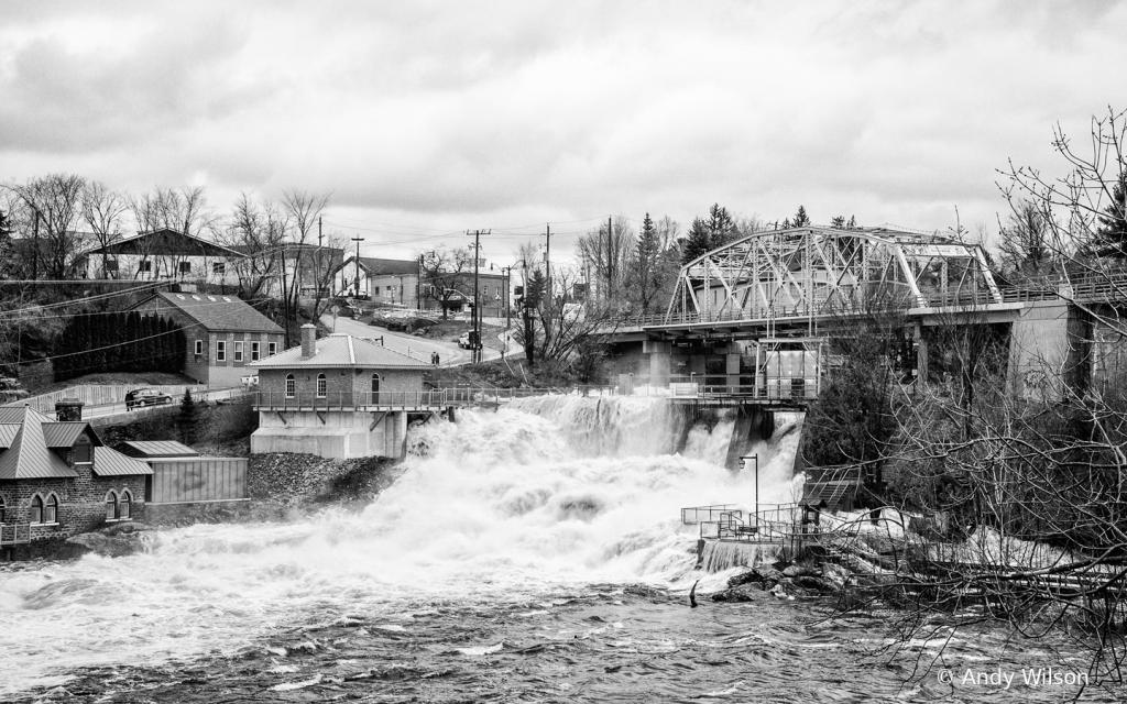 Spring Flooding at the Silver Bridge