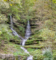 Bridal Falls where Two Become One