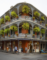 Royal St and St Peters NOLA