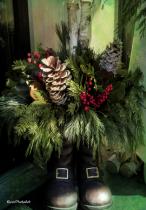 Boot Bouquet