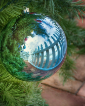 Christmas and a Picket Fence