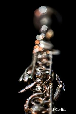 silver clarinet
