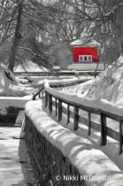 Hatchery Museum in Winter