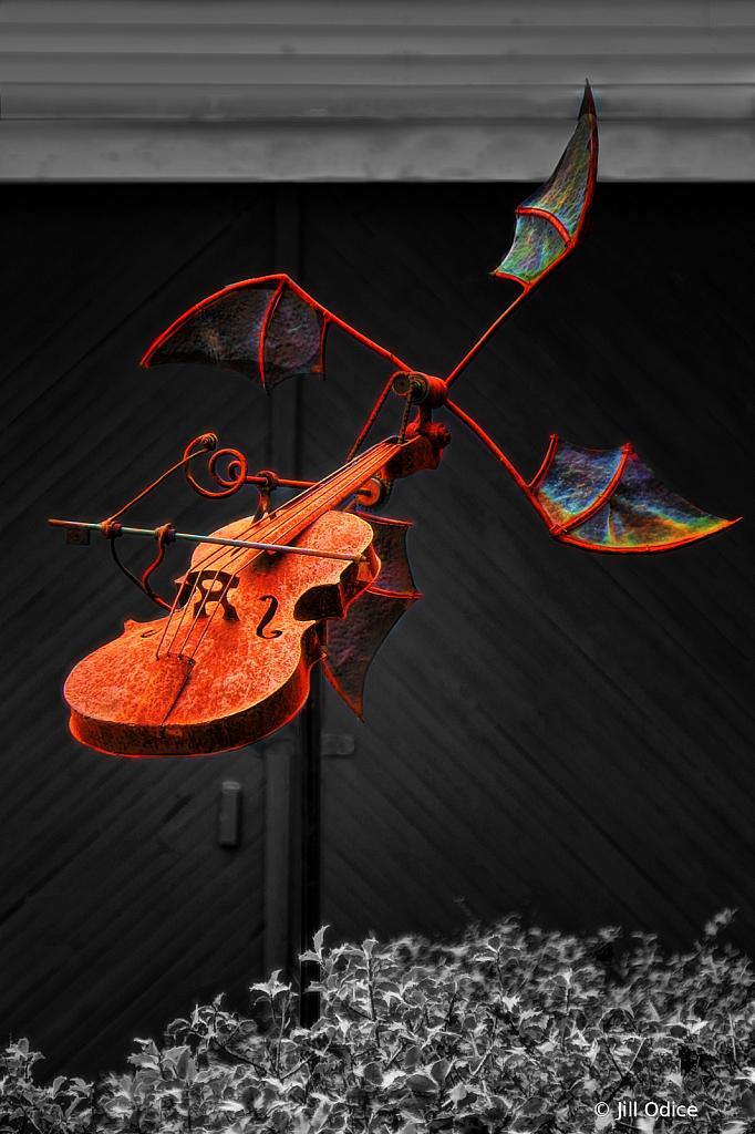 Flying Violin